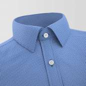 Arganil Blue checkered Shirt