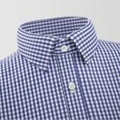 Lzmir Blue checkered Shirt