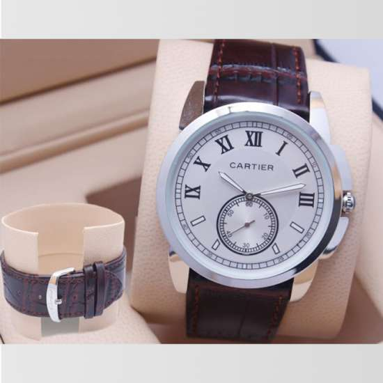 Cartier Down Second Mens Watch Design 2