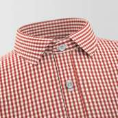 Izmir Red Checked Shirt