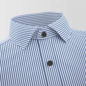 Ternberg Dark Blue Stripe Formal Shirt