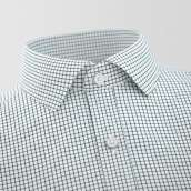 Tavira Black Checked Formal Shirt