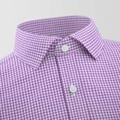 Siruela Purple Checked Formal Shirt
