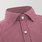 Melford Red Checked Formal Shirt