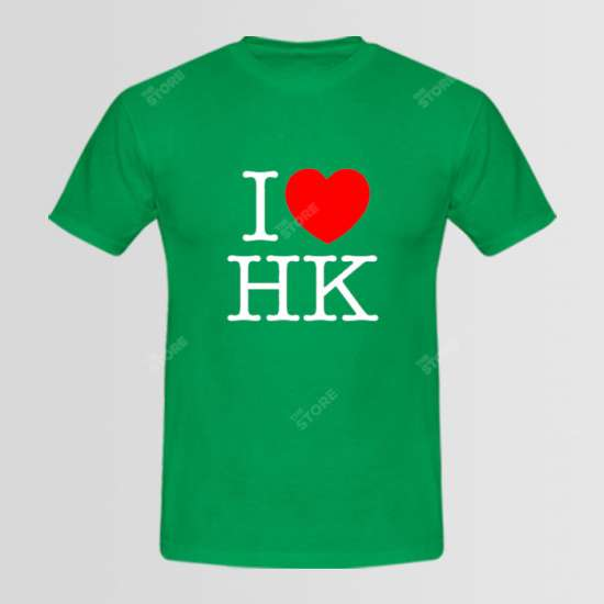 I Love H.K Logo T-Shirt (Available In 7 Colors)