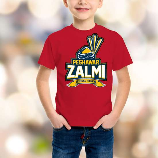 Peshawar Zalmi Kids Red T-Shirt