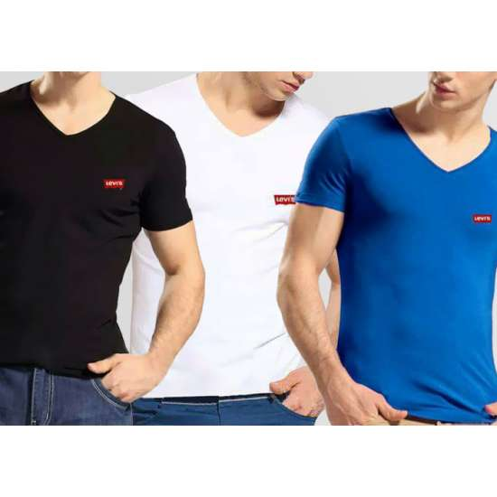 Bundle of 3 V-Neck Levi's T-Shirts
