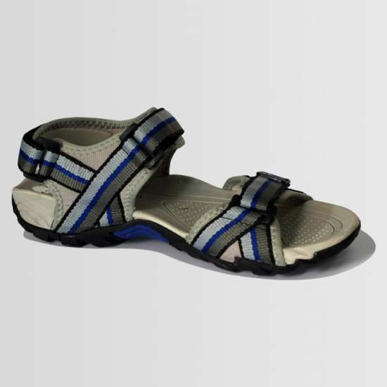Blue & Grey Casual Sandal