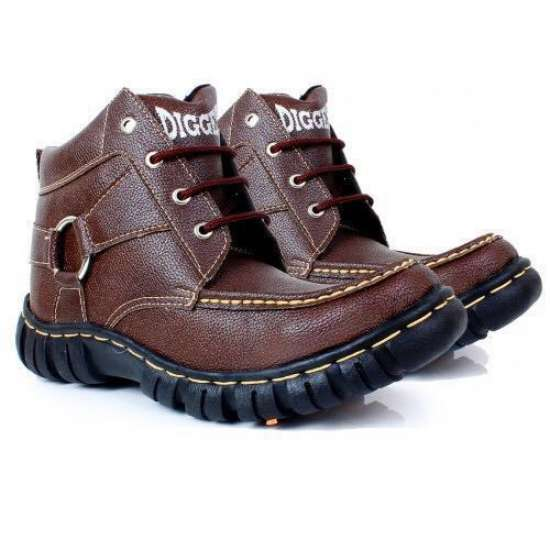 Brown Digger Casual Shoes