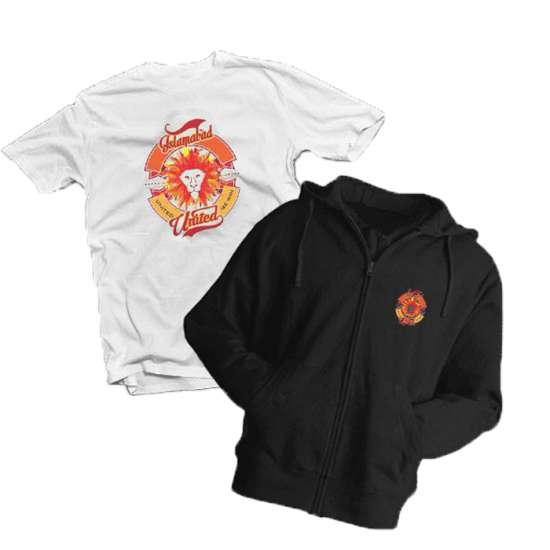 Islamabad United Hoodie With T-Shirt