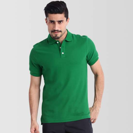 Flag Green Polo T-Shirt