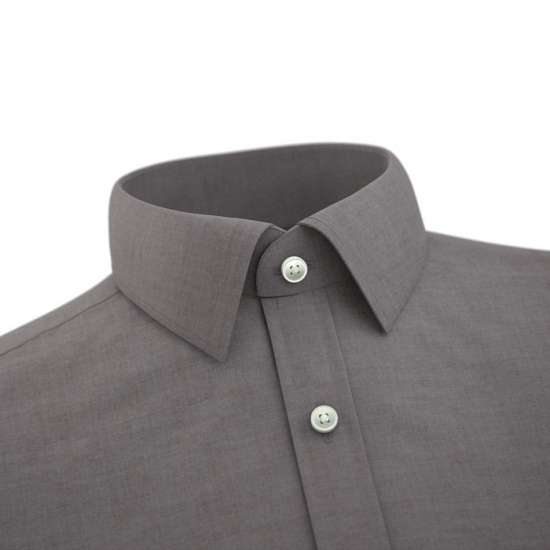 Teld Dark Brown Formal Shirt