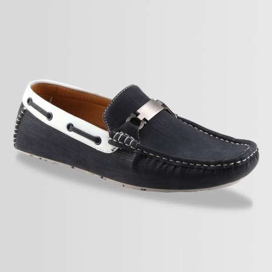 Blue and White Casual loafer