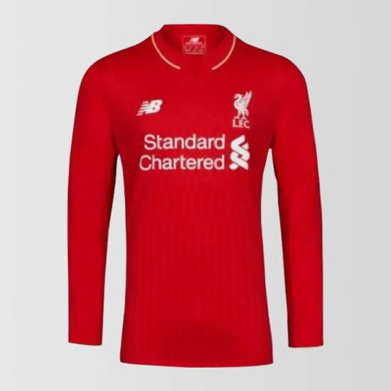 Liverpool Home Long Sleeves Shirt 2015-16