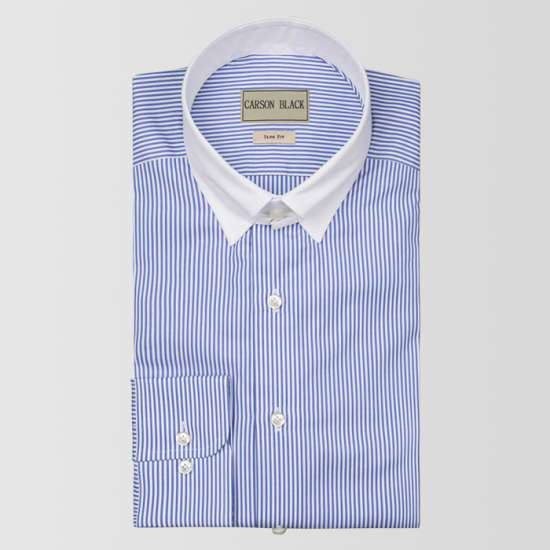 Light Mayfair Bar Stripe Shirt