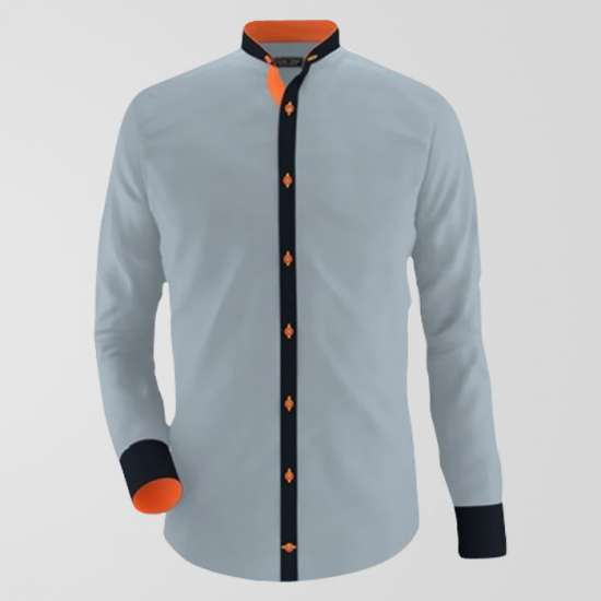 Premium D Grey Casual Shirt