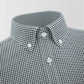 Black Small Checkered Formal Shirt