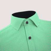 Green Check Formal Shirt