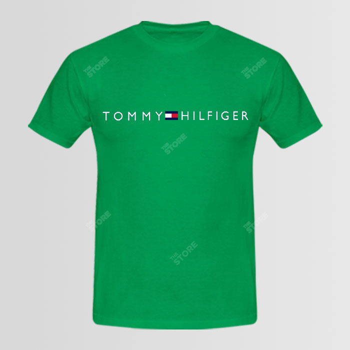 tommy hilfiger logo t shirt. Black Bedroom Furniture Sets. Home Design Ideas