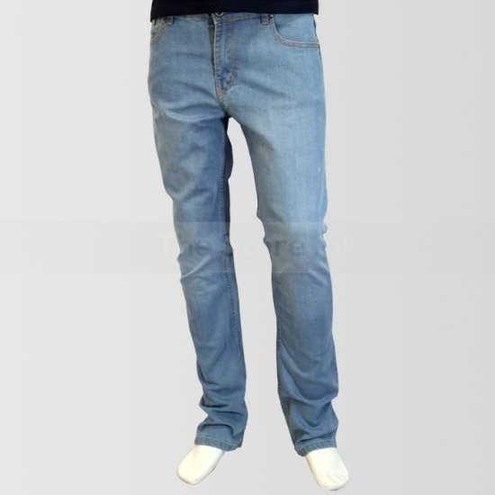 Light Blue Regular Fit Jeans