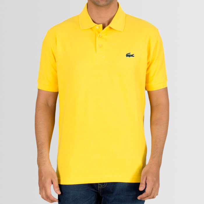 0298aa6dd192 Bundle of 3 Polo Lacoste Logo T-Shirts (Available In 11 Colors ...