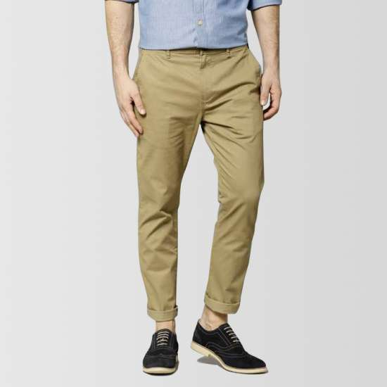Khaki Stretch Pant