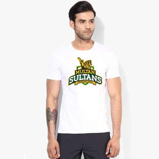 Multan Sultan PSL White T-Shirt