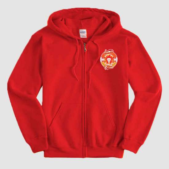 Islamabad United Psl Red Zipper Hoodie