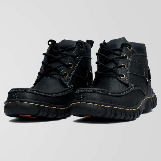Black Digger Casual Shoes